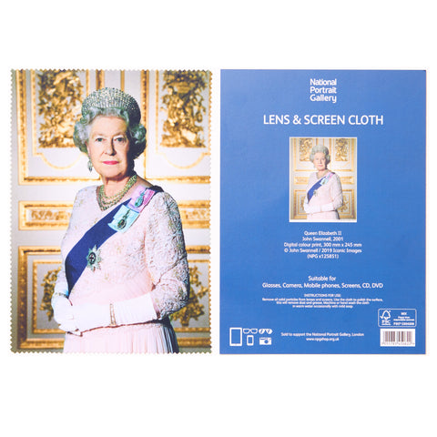 Queen Elizabeth II Lens Cloth