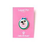 Celia Birtwell Dog Pin Badge
