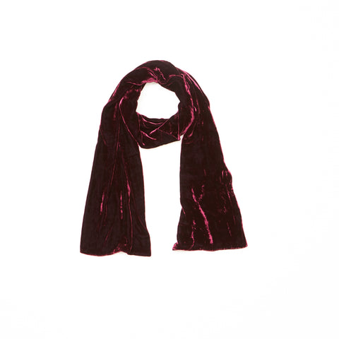 Port Silk Velvet Scarf