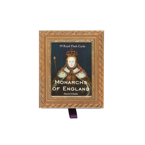 Monarchs of England Flash Cards