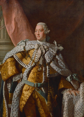 King George III NPG 223 Portrait Print