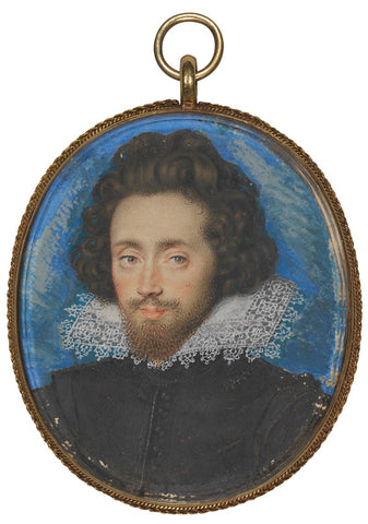 Richard Boyle, 1st Earl of Cork NPG 2494 Portrait Print