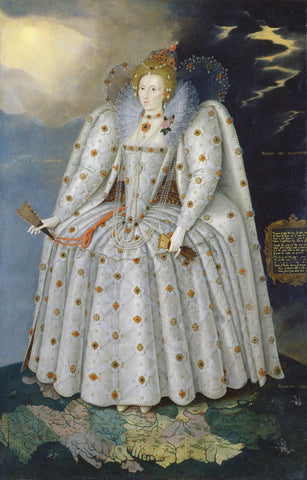 Queen Elizabeth I ('The Ditchley portrait') NPG 2561 Portrait Print