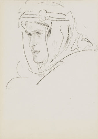 T.E. Lawrence NPG 3187 Portrait Print