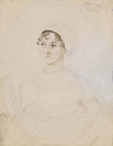 Jane Austen NPG 3630 Portrait Print