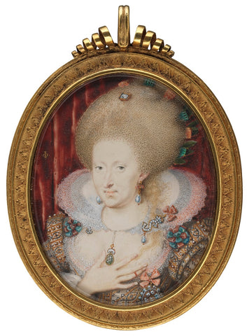 Anne of Denmark NPG 4010 Portrait Print