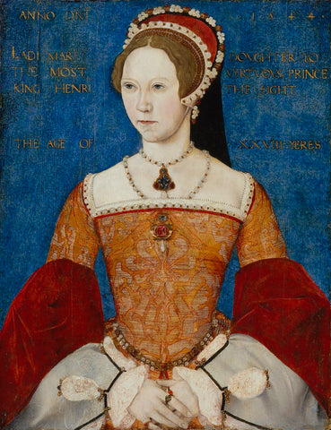 Queen Mary I NPG 428 Portrait Print