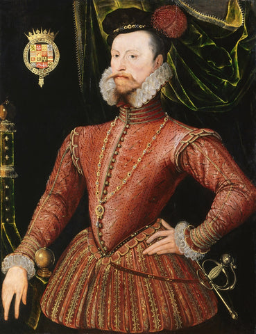 Robert Dudley, 1st Earl of Leicester NPG 447 Portrait Print