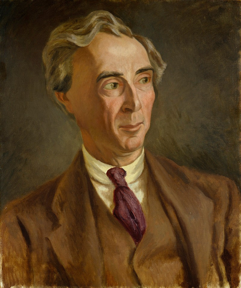 Bertrand Arthur William Russell, 3rd Earl Russell NPG 4832 Portrait Print