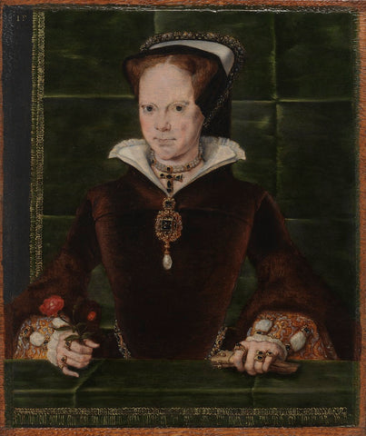 Queen Mary I NPG 4861 Portrait Print