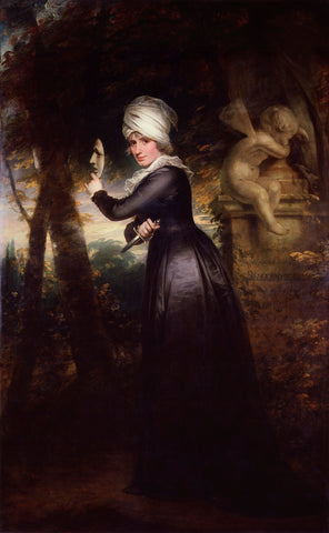 Sarah Siddons (née Kemble) ('Mrs Siddons with the Emblems of Tragedy') NPG 5159 Portrait Print