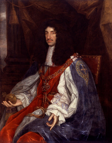 King Charles II NPG 531 Portrait Print