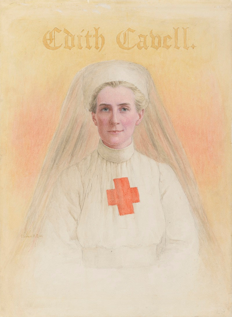 Edith Cavell NPG 5322 Portrait Print