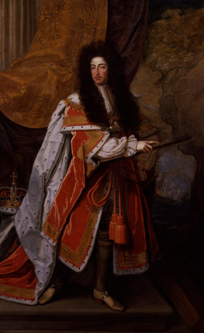 King William III NPG 5496 Portrait Print
