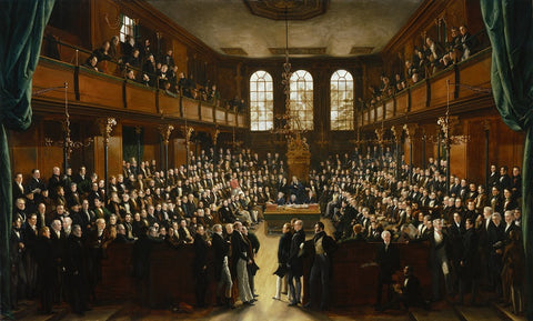 The House of Commons, 1833 NPG 54 Portrait Print