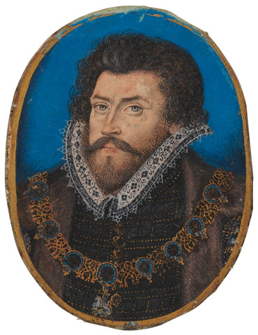 Sir Christopher Hatton NPG 5549 Portrait Print