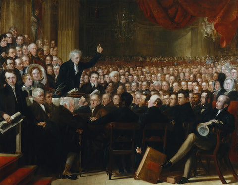 The Anti-Slavery Society Convention, 1840 NPG 599 Portrait Print