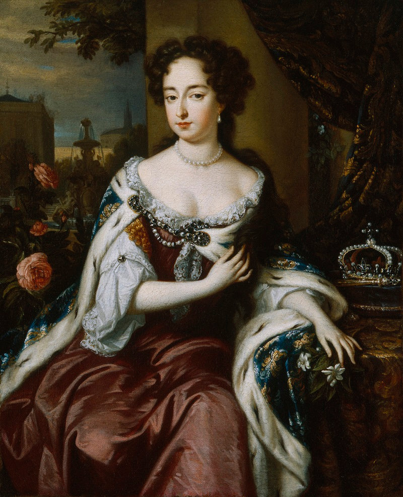 Queen Mary II NPG 606 Portrait Print