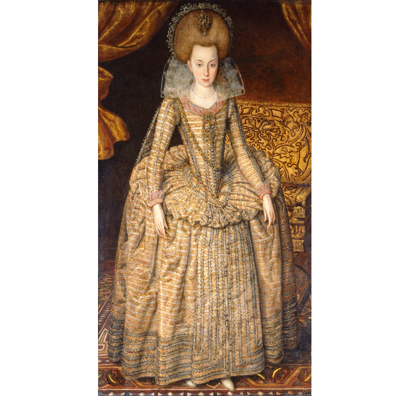 Princess Elizabeth, Queen of Bohemia and Electress Palatine NPG 6113 Portrait Print