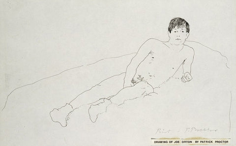 Joe Orton NPG 6154 Portrait Print
