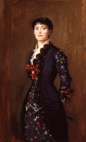 Louise Jane Jopling (née Goode, later Rowe) NPG 6612 Portrait Print