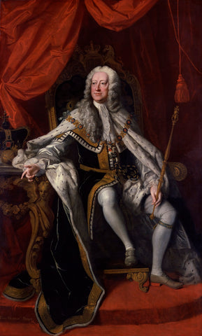 King George II NPG 670 Portrait Print