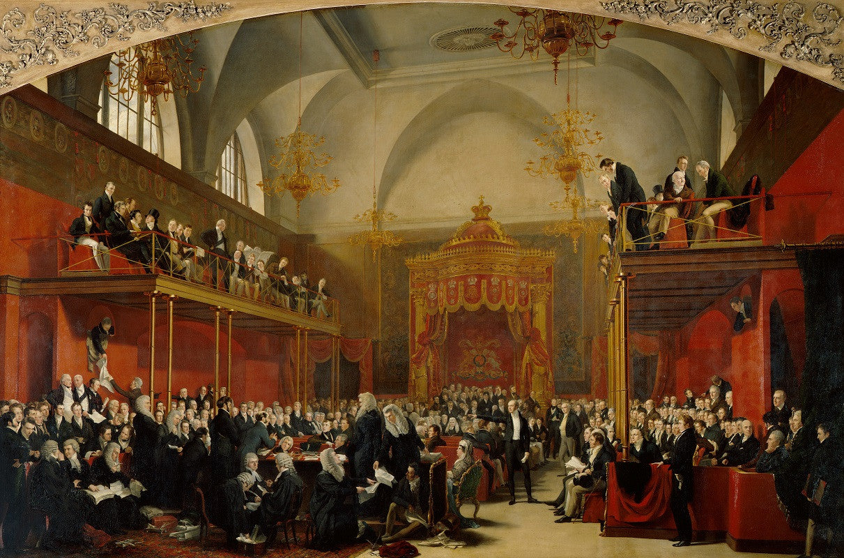 The Trial of Queen Caroline 1820 NPG 999 Portrait Print