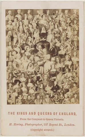'The Kings and Queens of England: From the Conquest to Queen Victoria' NPG Ax131392 Portrait Print
