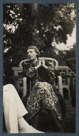 Virginia Woolf NPG Ax142589 Portrait Print
