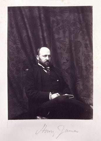Henry James NPG Ax15604 Portrait Print
