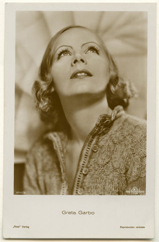 Greta Garbo NPG Ax160454 Portrait Print