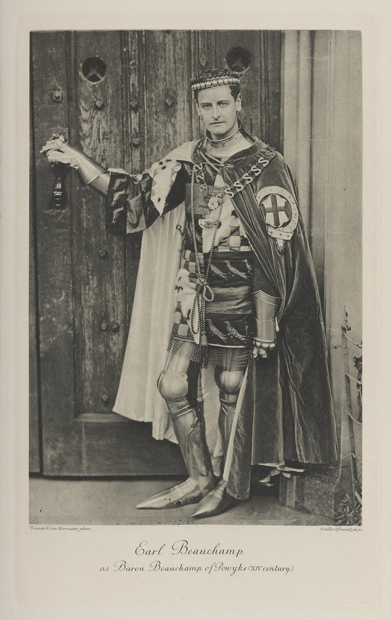 William Lygon, 7th Earl Beauchamp as Baron Beauchamp of Powyke (XIV Century) NPG Ax41163 Portrait Print