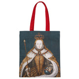 Queen Elizabeth I Cotton Tote Bag