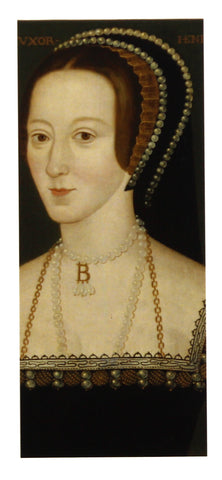 Anne Boleyn Magnetic Bookmark