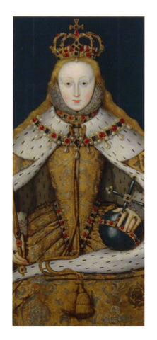 Queen Elizabeth I Magnetic Bookmark
