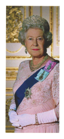Queen Elizabeth II Magnetic Bookmark