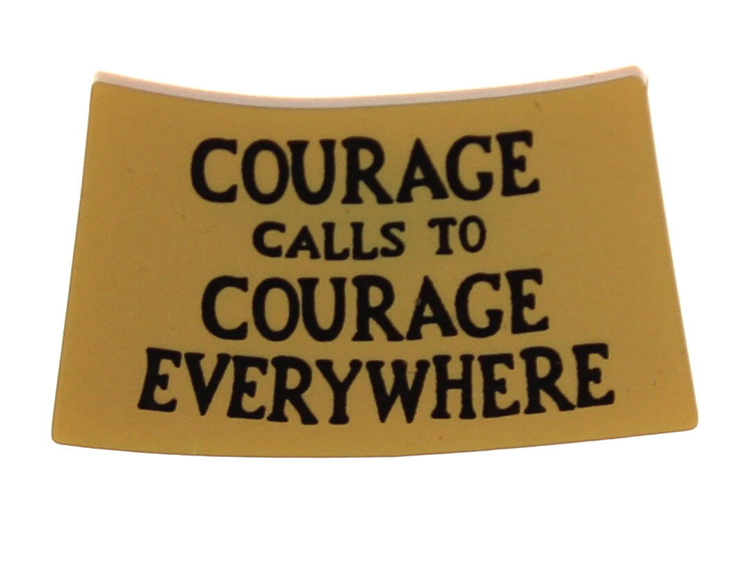 Courage Calls Brooch