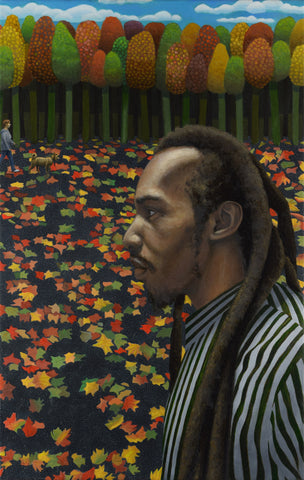 Benjamin Zephaniah and Epping Forest, poet (unframed)