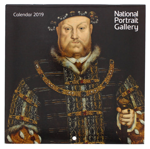 National Portrait Gallery Tudor and Elizabethan 2019 Mini Calendar