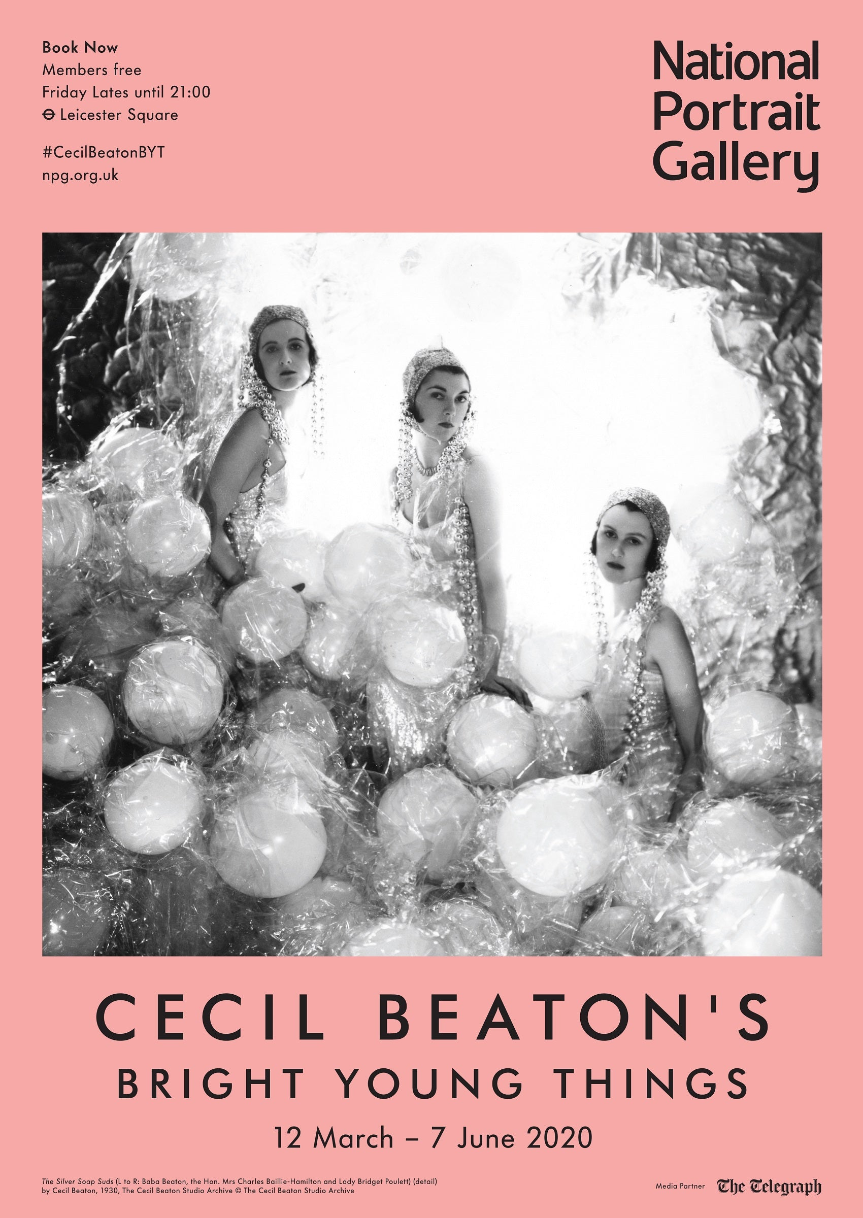 Cecil Beaton's Bright Young Things Exhibition Poster