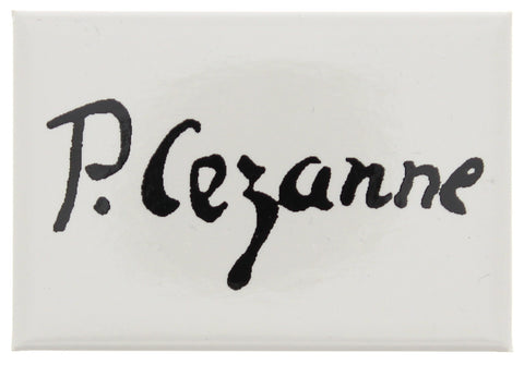Cézanne Signature Fridge Magnet