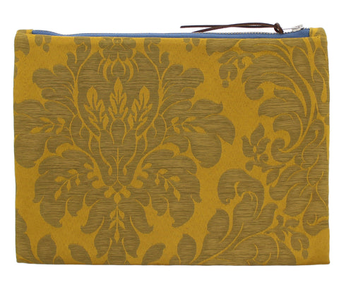 Gainsborough Mill Fabric Clutch Bag