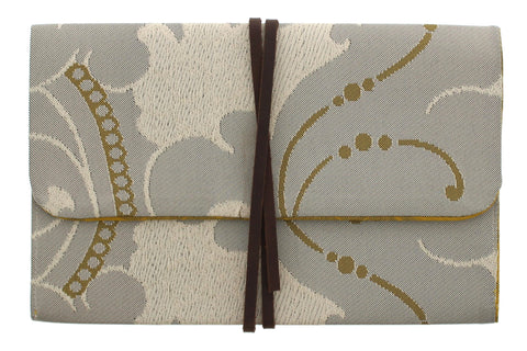 Gainsborough Mill Fabric Wrap Clutch Bag