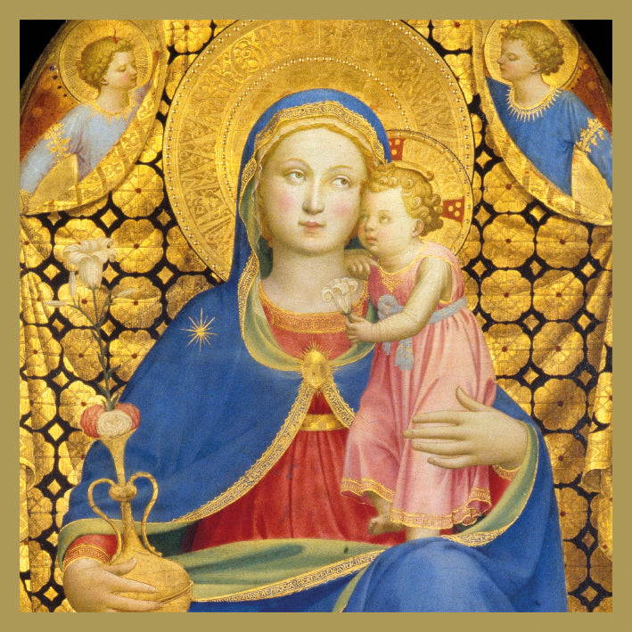 The Madonna of Humility Christmas Card 5 Pack