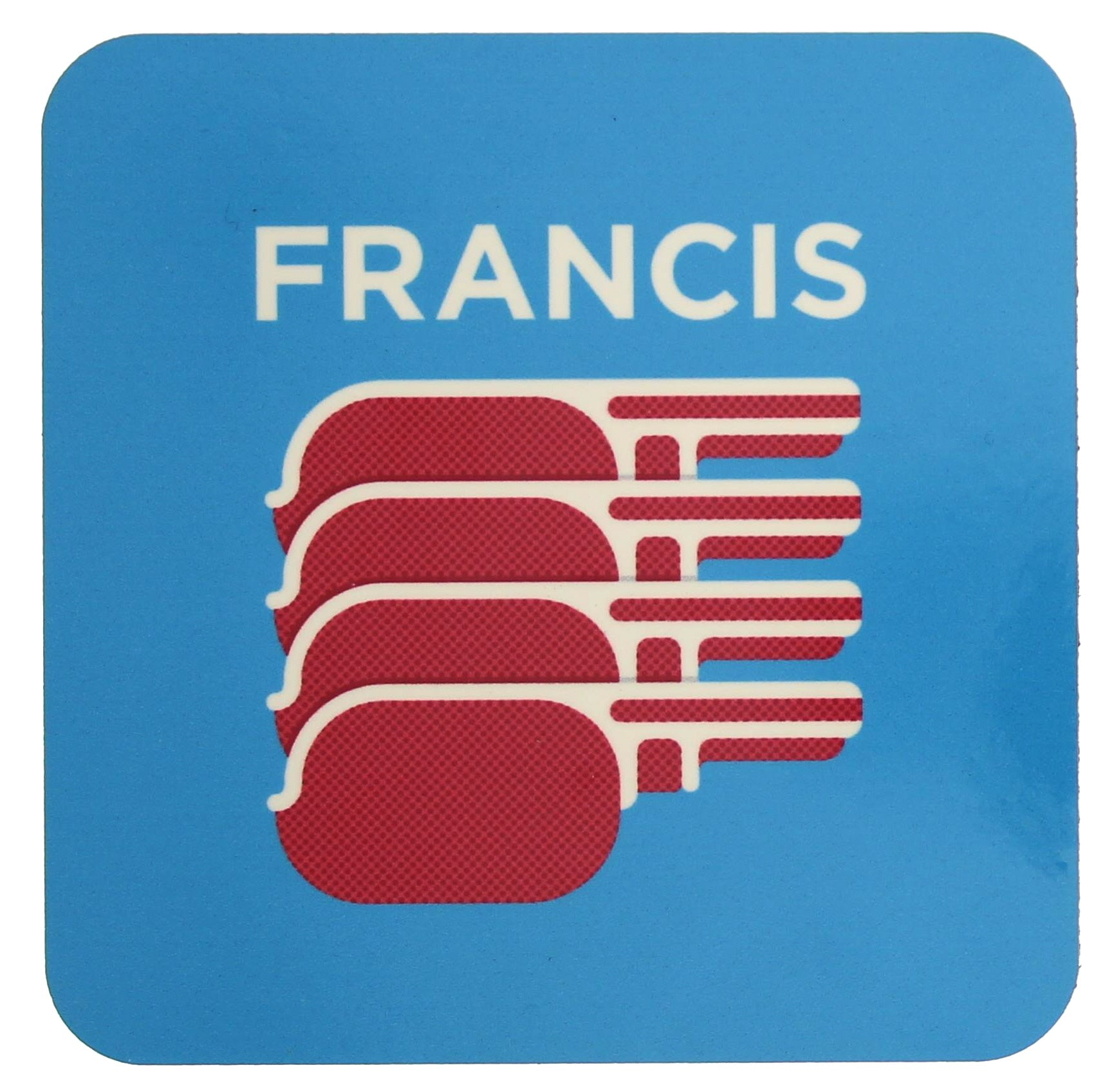 Francis (Bacon) Coaster