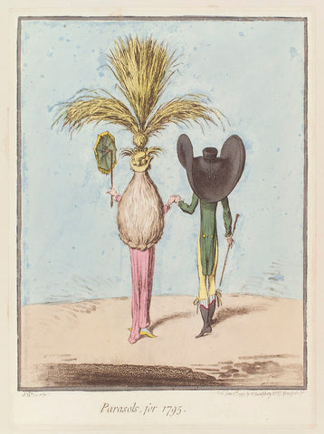 'Parasols, for 1795' NPG D12535 Portrait Print