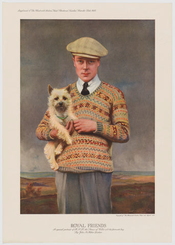 Prince Edward, Duke of Windsor (King Edward VIII) NPG D34119 Portrait Print