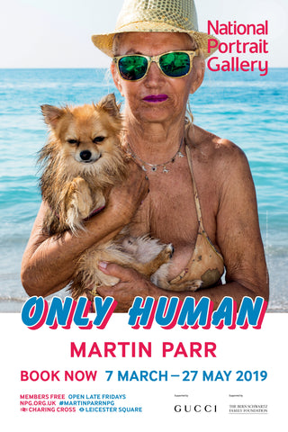 Martin Parr Only Human Exhibition Poster