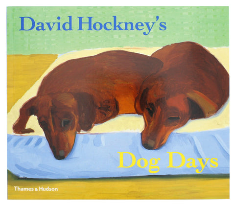 David Hockney's Dog Days Paperback