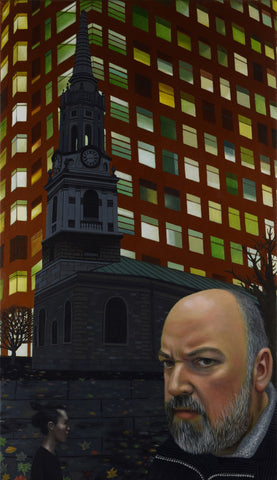 Dave McKean and St Giles Church, illustrator (unframed)